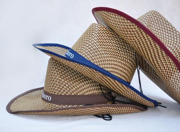 新款大檐時尚休閑草編帽夏季太陽帽男女捲邊遮陽 西部牛仔帽批 發