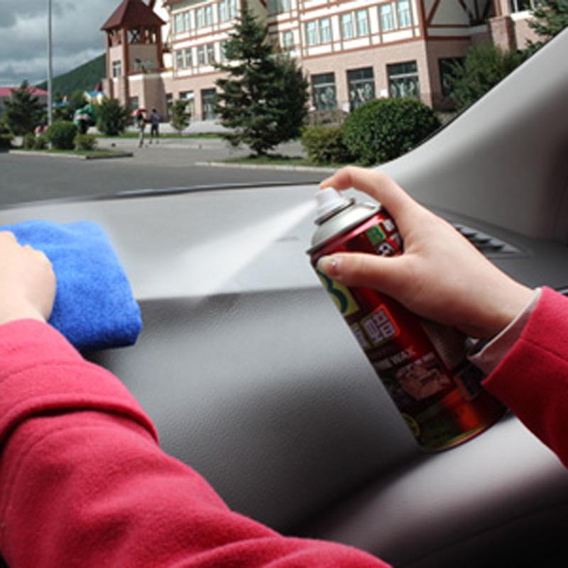 保赐利表板蜡仪表盘皮革内饰清洗上光保护剂汽车蜡腊洗车打蜡用品