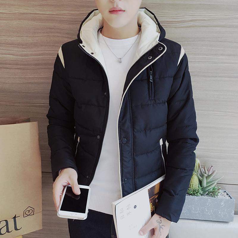 2016 男士棉衣 立領加厚保暖棉外套 棉夾克修身潮男