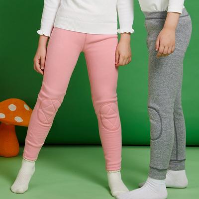 童裝男童女童保暖褲加絨加厚打底褲兒童護膝內穿棉褲秋冬寶寶絨褲