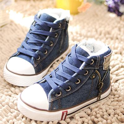 Один из мальчиков детей обувь мальчиков обувь Холст обувь малыш обувь осень 2015 новая детская обувь для девочек от Kupinatao
