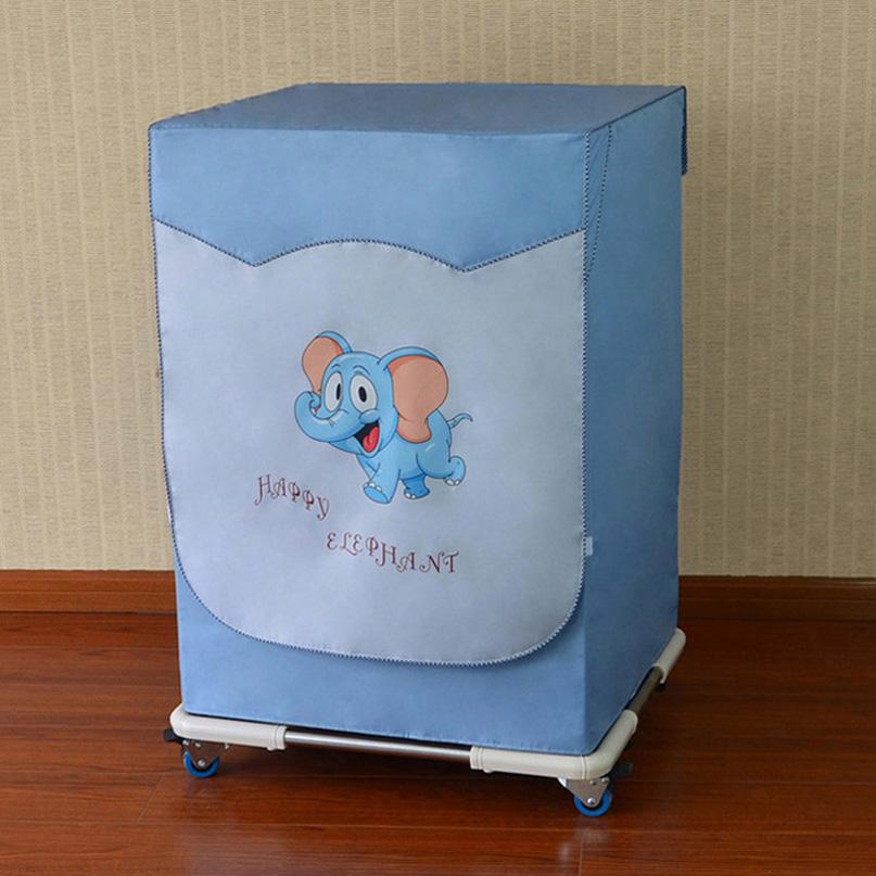 海爾美的海信創維小天鵝洗衣機罩滾筒式7 8 9KG公斤防水防曬套子