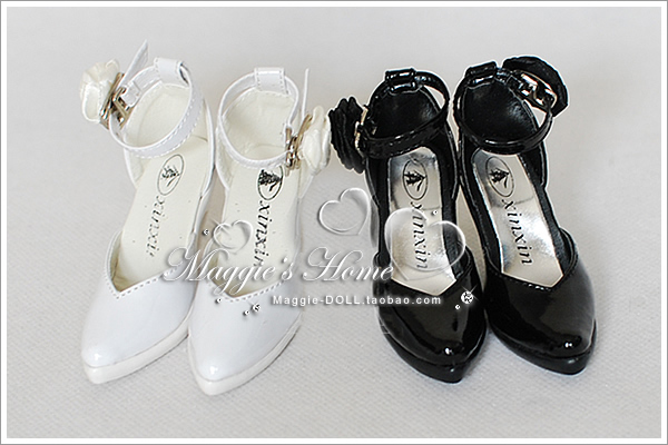 BJD shoes [womens high-heeled shoes X002] (two colors. 1 / 3) BJD.SD Baby shoes