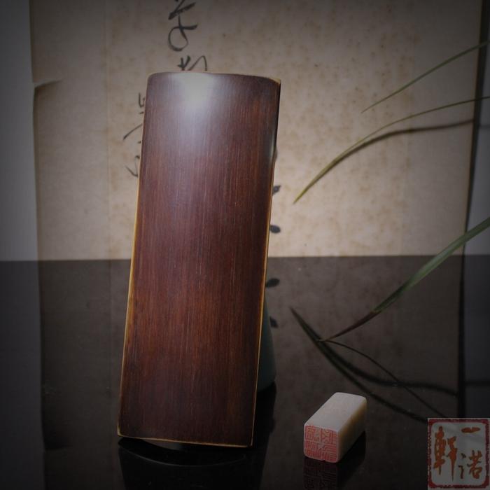 Номер Yi Nuo Xuan полностью ручная работа бамбуковый копия Старинное лицо Бамбуковая подлокотник(Труба 20 * 7,5)