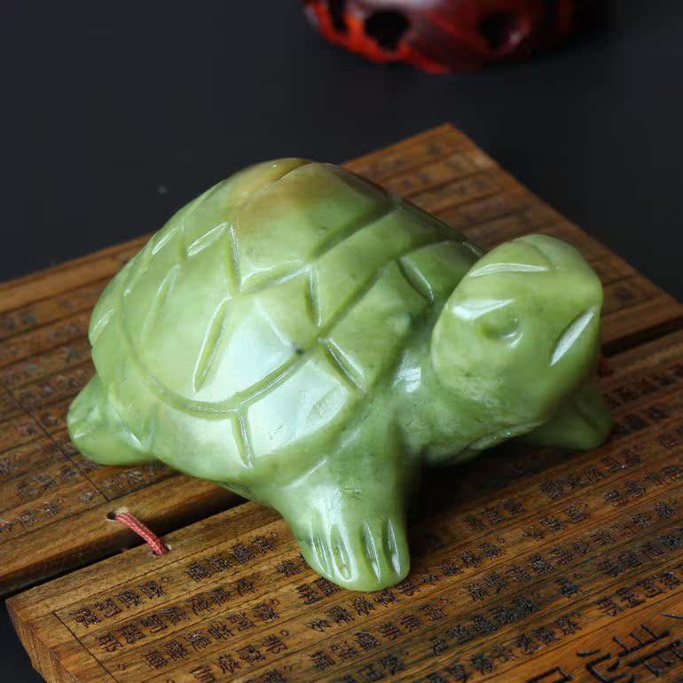 Нефрит черепаха украшение долговечность черепаха мать и дитя дорогой нефрит черепаха ручной работы резьба фэн-шуй жуки большой средний маленький 3 количество