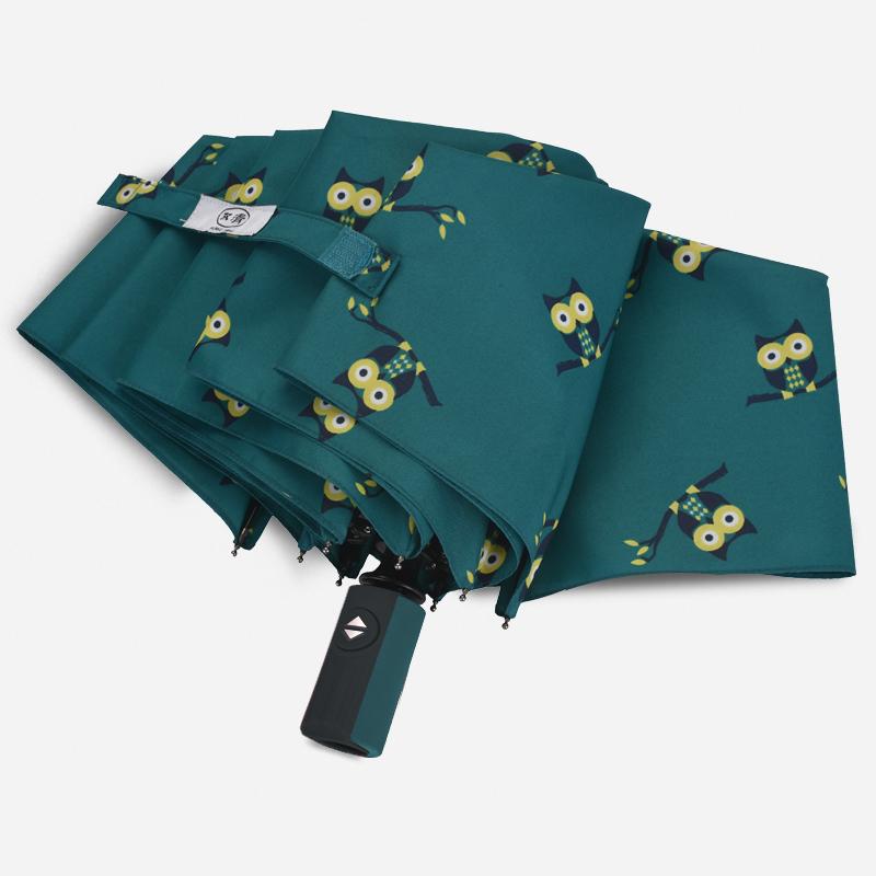 雨伞女全自动折叠太阳伞小清新女神卡通可爱学生遮阳伞晴雨伞两用