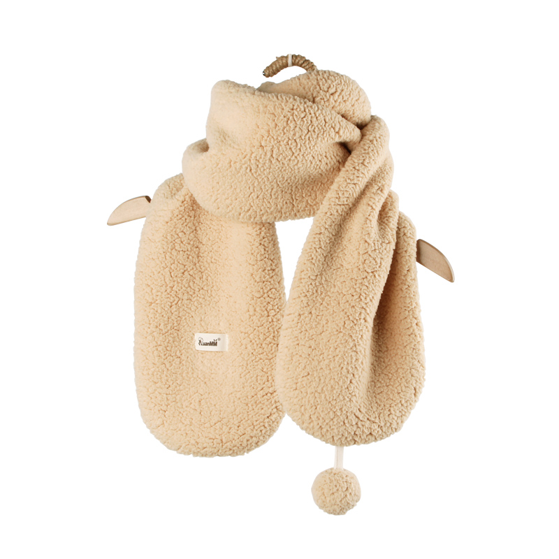 阮棉棉有機棉純棉寶寶圍巾