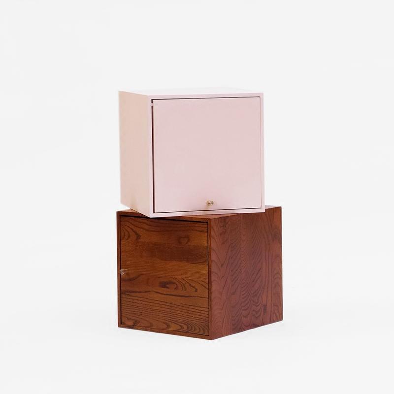 王里牛勿自由组合收纳多功能储物柜北欧实木原创设计师品牌家具