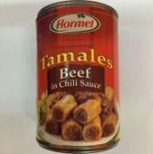 Hormel Beef Tamales In Chili Sauce | 425g