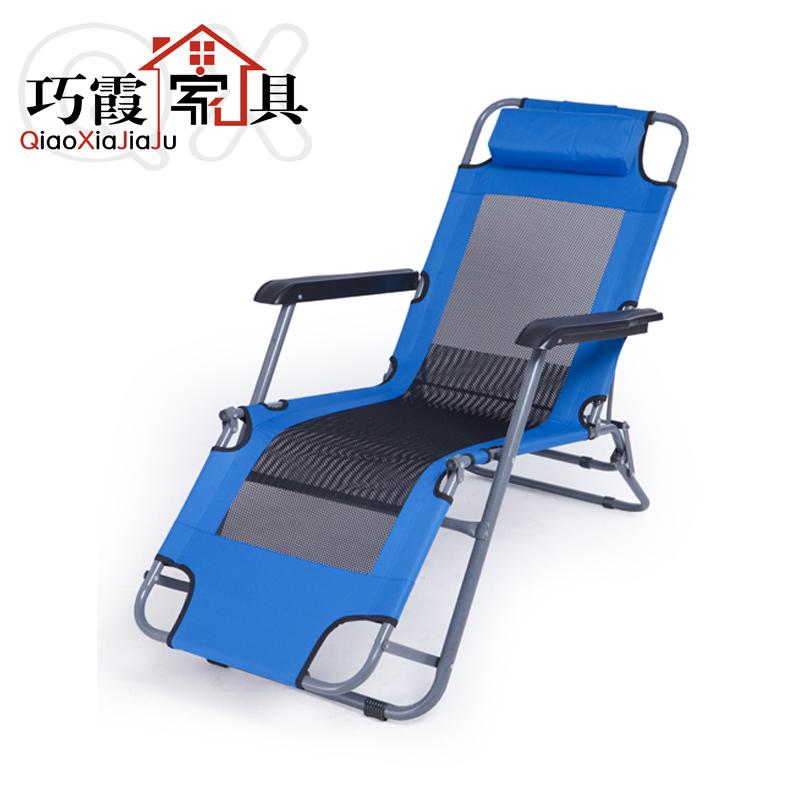 巧霞躺椅折疊椅辦公室午休午睡椅子折疊椅躺椅折疊午休 椅
