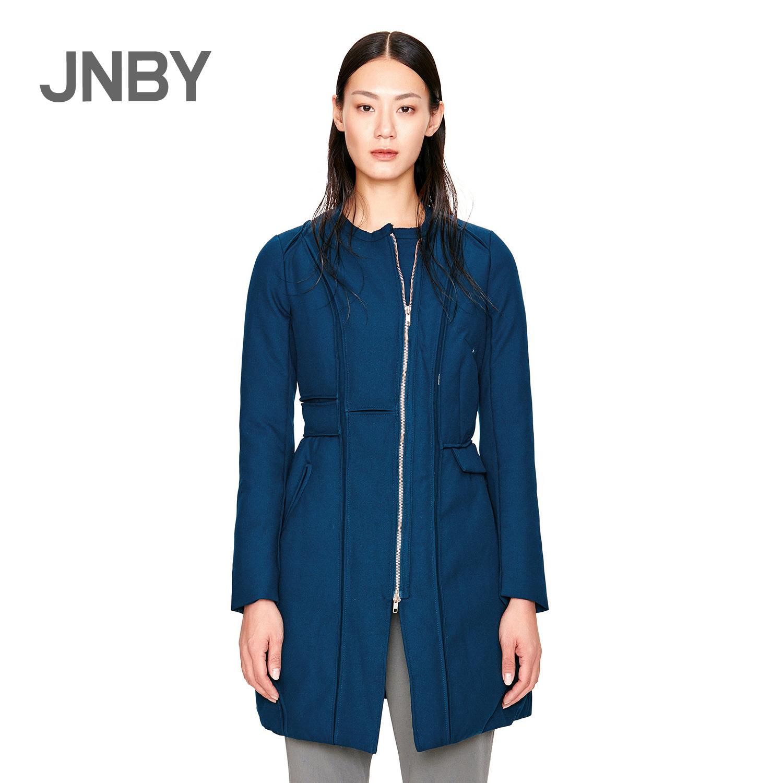 JNBY-осень зима jnby тонкий моды Джокер длинный рукав пальто женское вниз куртка 5E77096