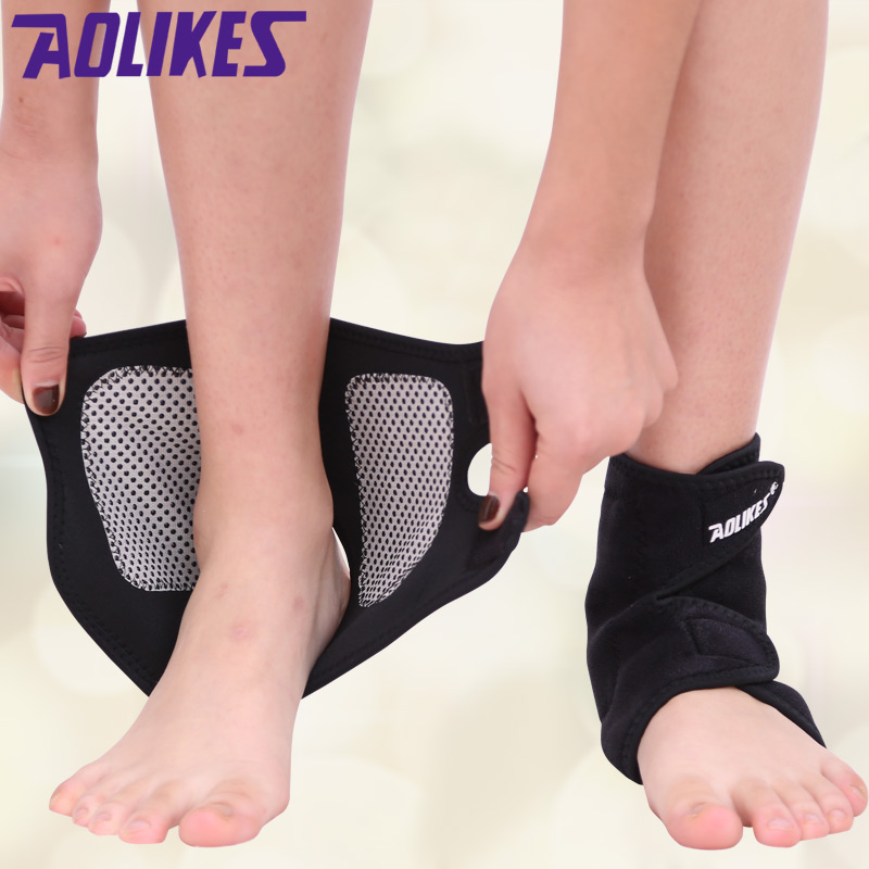 保暖自發熱護踝 防扭傷跑步護腳踝男女士老年人腳踝防寒護具