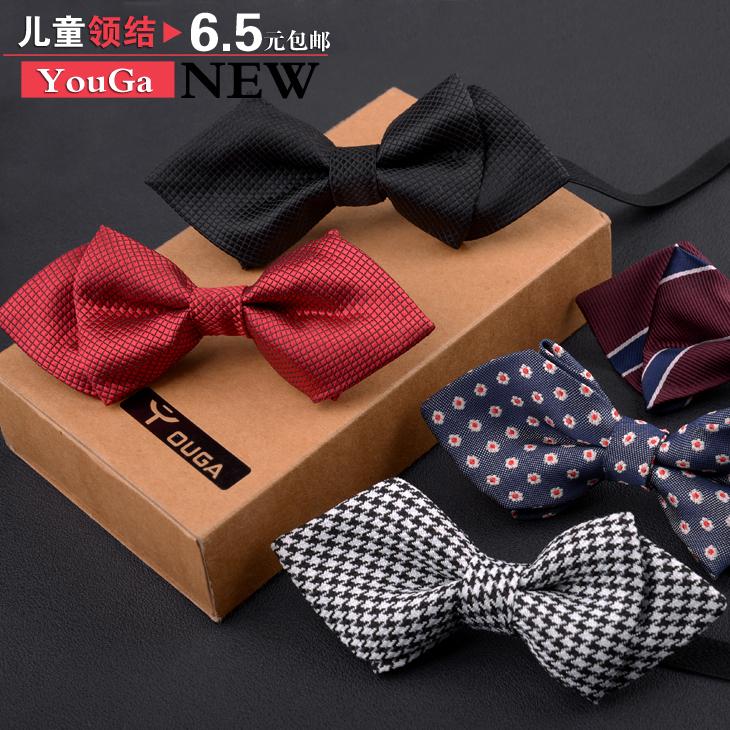 Ребенок галстук-бабочка ребенок галстук-бабочка ребенок мальчиков бант галстук-бабочка корейский выступ жаккард tide аксессуары волна