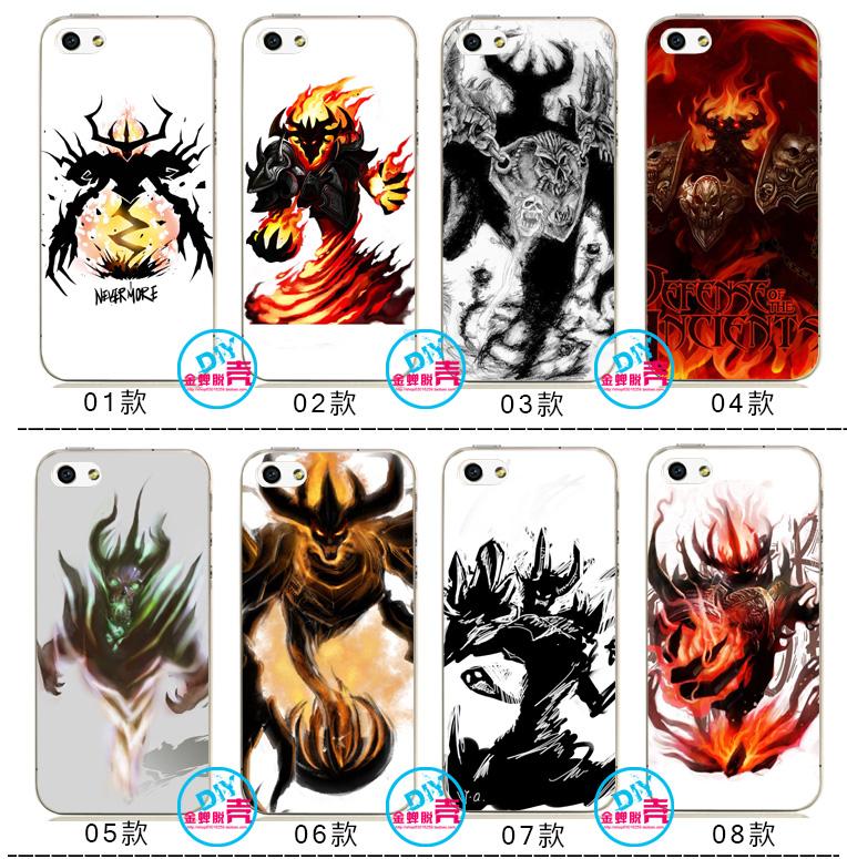 魔兽世界dota影魔iPhone6s/6sPlus/5S软壳苹果5s/4s手机壳itouch5