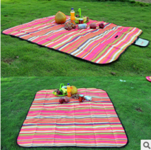 Coobe fish outdoor Oxford cloth pad widened waterproof dampproof mat picnic campground grass MATS package mail