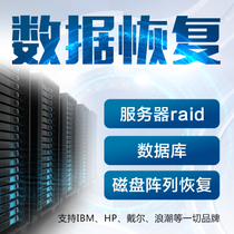 Server data recovery Raid NAS database repair recovery disk array data recovery