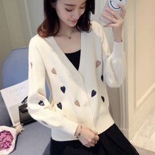 Early spring very immortal cardigan sweater women 2019 new spring dress short knitted jacket women spring and autumn thin fashion trend