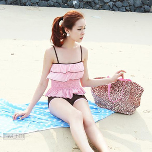 stylebyyam Korea purchasing official website authentic spot fluttering sweet cherry cover belly bikini