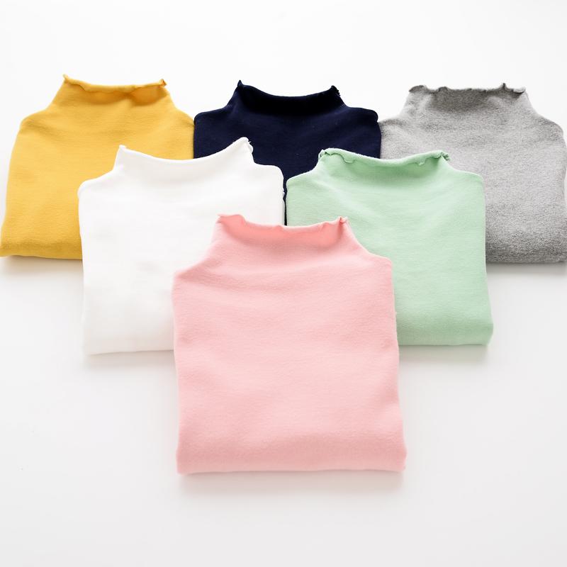 Дикие девушки ~ сплошной цвет рубашки в конце осени 2015 новый женский сокровища конфеты цветные половинной высоты водить волнистые сверху