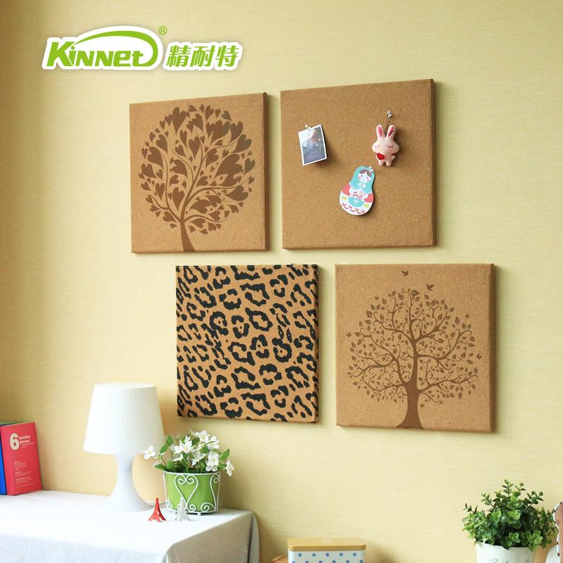 精耐特 掛式家居壁飾照片牆電視背景牆飾掛式軟木圖釘留言板