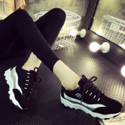 Fall 2015 sneakers women air cushion Korean tidal shoes running shoes ladies shoes and thick-soled shoes running shoes