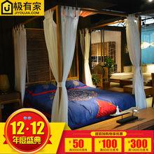 Кровати > Кровати в китайском стиле.
