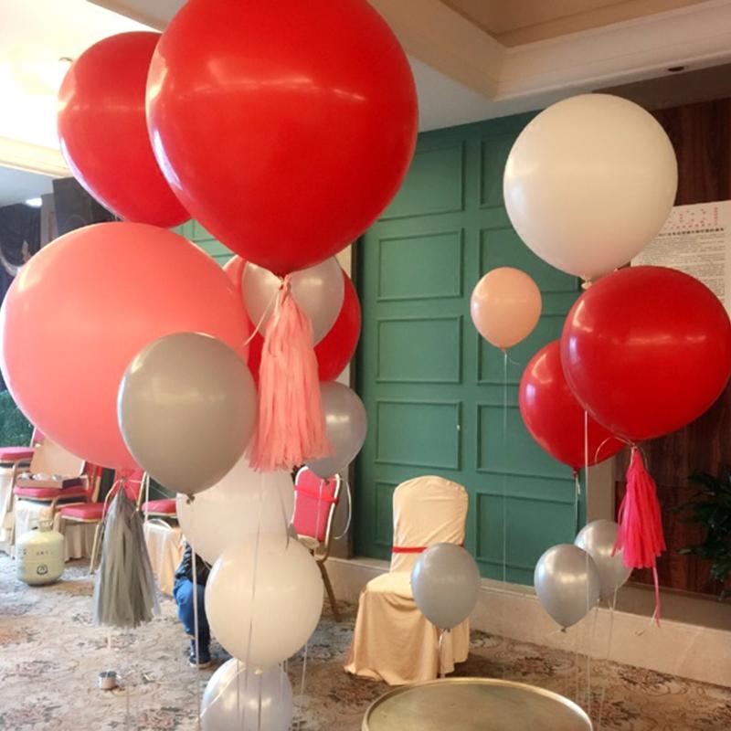 超大气球加厚大号乳胶36寸儿童生日派对结婚礼装饰用品地爆球道具