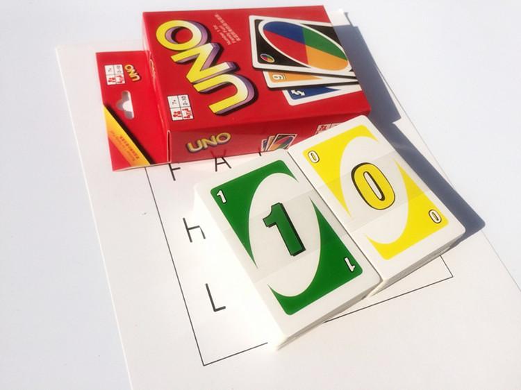 Почта пакет плюс толстый мелованная бумага UNO карты отлично обещание карты UNO бумага карты PVC пластик черный обещание карты группа наказание стол тур карта карты