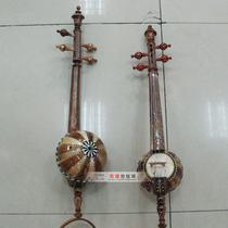 新疆维吾尔族手工制作本土民族乐器艾捷克会议礼品家居工艺品