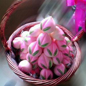 食品特产寿佳品老人生日小寿桃包50个装只限杭州地区购买自提
