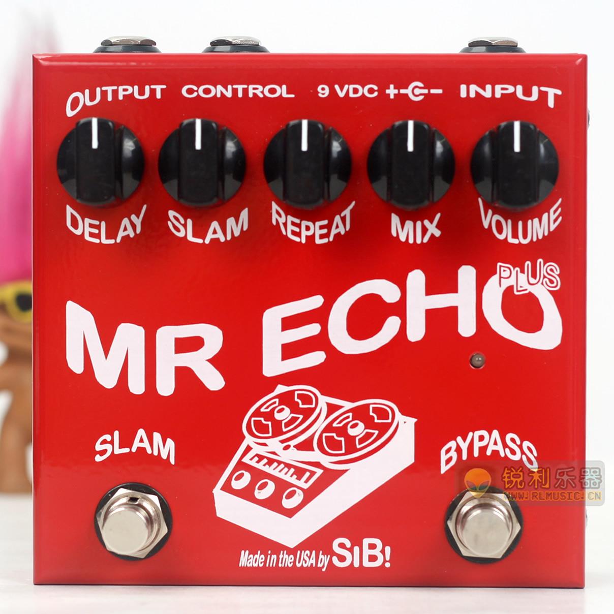 【SIB Mr Echo Plus】模拟回响延迟延时效果器加强版【锐利乐器】
