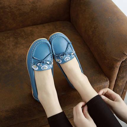 春夏季新款中老年人鞋妈妈鞋休闲运动鞋平底软底防滑舒适妈妈鞋妇