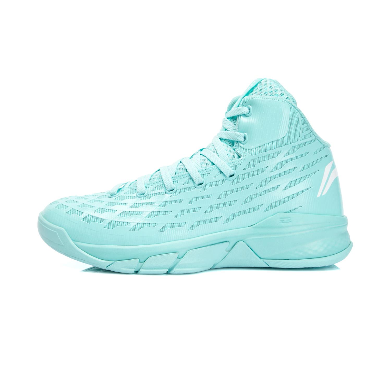 李寧籃球鞋男子惡魔 薄荷高幫耐磨外場比賽戰靴 鞋ABFK033