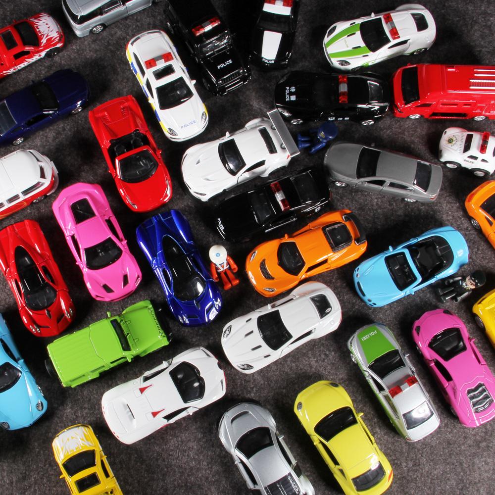 越野轎車小跑車回力套裝兒童合金屬軌道賽車汽車模型口袋玩具名車