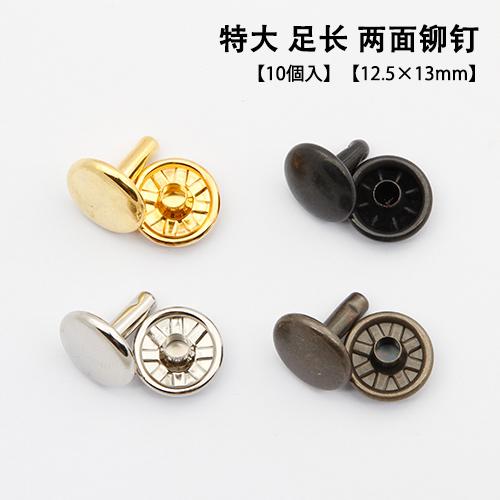 Япония seiwa честный спокойный медь заклепка особенно большой заклепка обе стороны ступня долго 12.5x13mm многоцветный вводить