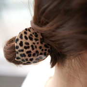 Know Richie rubber band rings Korean jewelry Leopard-print hair yakelizha hair rope string Korea hair jewelry