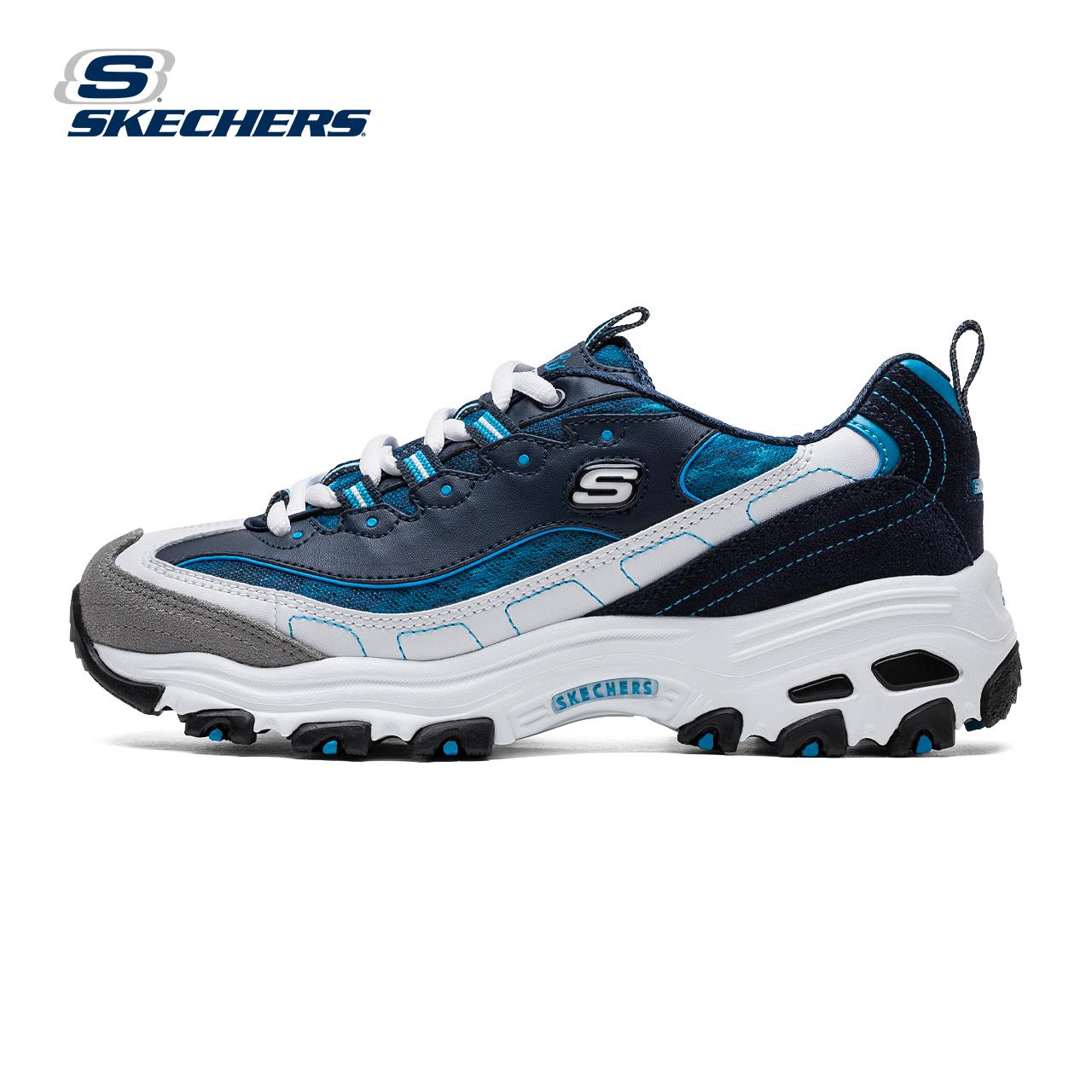 Skechers斯凱奇D rsquo lites 熊貓鞋 厚底情侶 鞋99999956