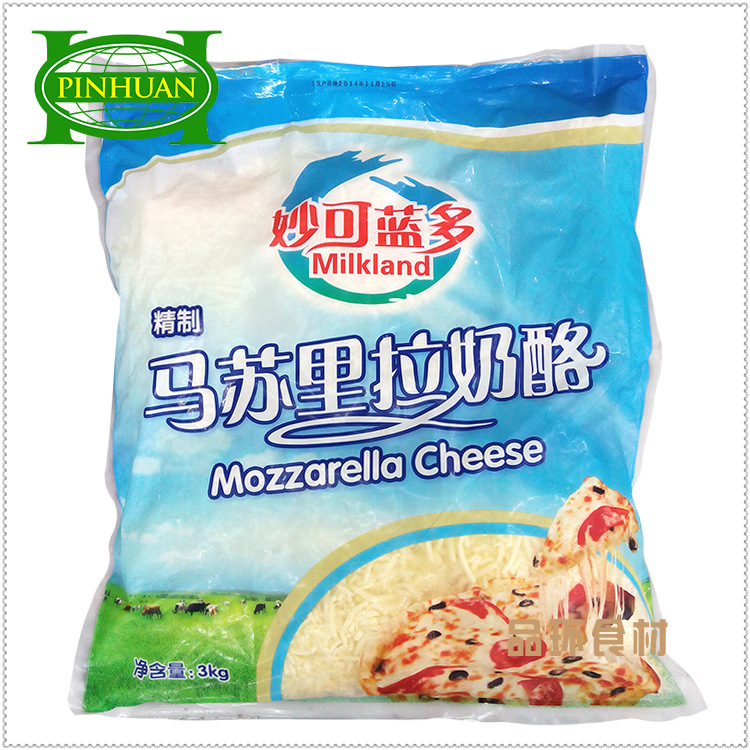 Гуандун бесплатная доставка по китаю Чудесно смогите синий Больше сыра, сломанного 3 кг Сыр сыра «Масу», сломанный сыр из шелка пицца ризотто с шелком