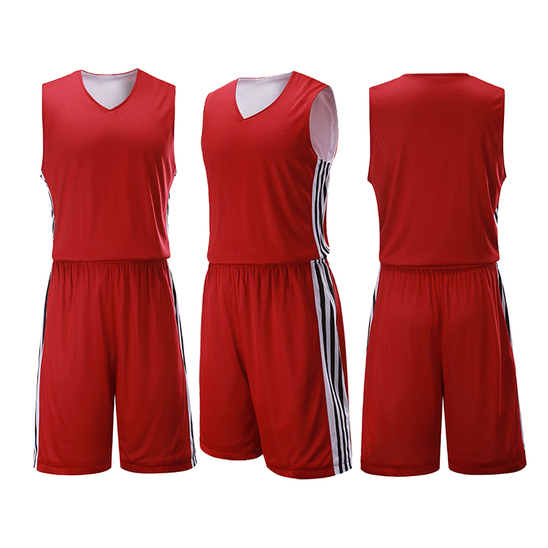 Aoxing Andy basketball suit mens double-sided basketball shirt breathable sweat absorbing mesh vest 1706