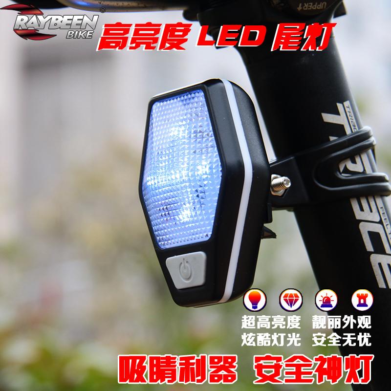Велосипед задний фонарь LED предупреждение свет гора шоссе одиночная машина ночь между строб ultrabright декоративный после свет верховая езда монтаж