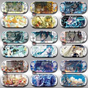 ?多款 可选PSV1000痛贴初音合集 痛机贴膜贴纸动漫彩贴膜配件