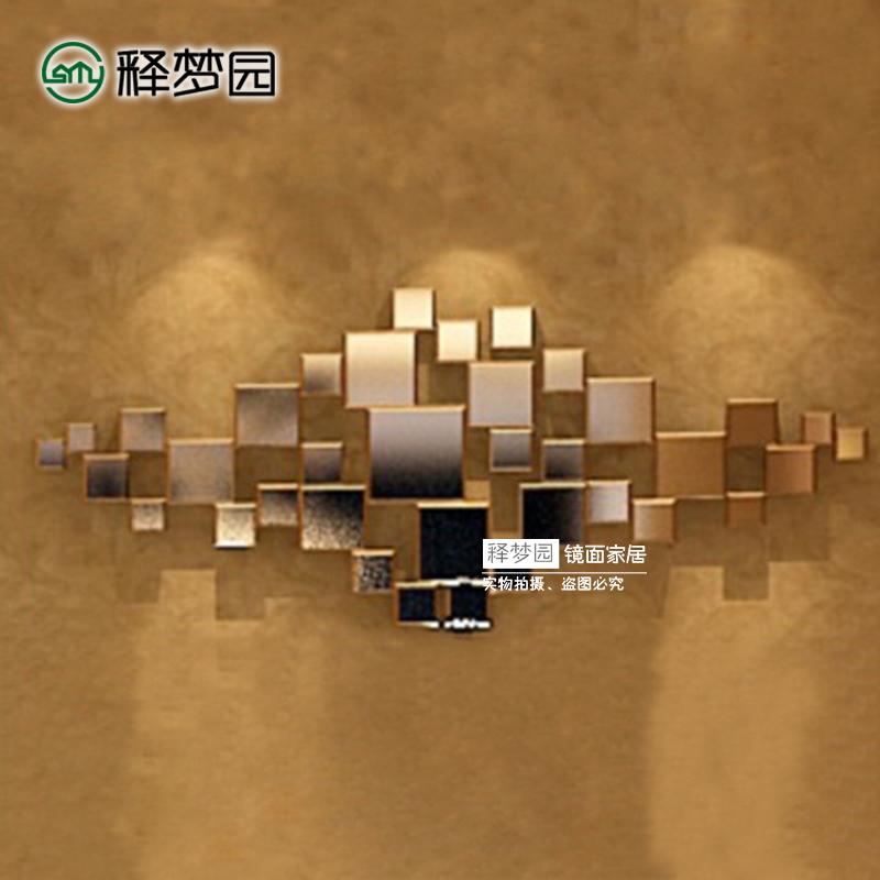 Релиз мечтать сад стена украшения творческий мода стена украшения трехмерный декоративный зеркало вход зеркало висячее зеркало простой косметическое зеркало M1243
