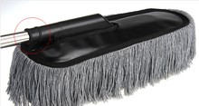The car it will take dust mop brush dust removal Telescopic dust brush duster Car cleaning products