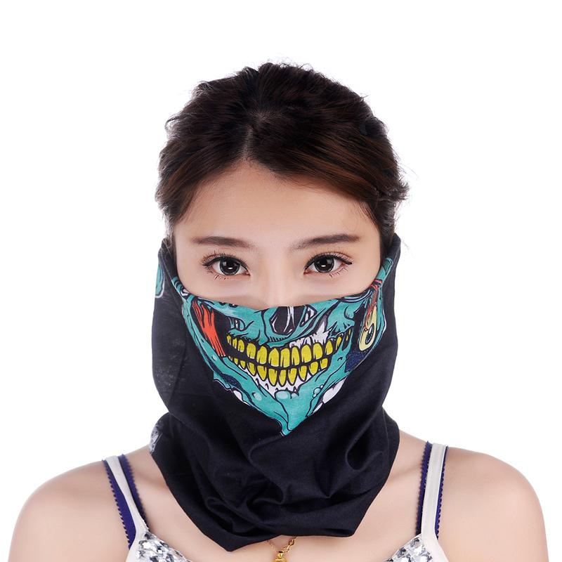 Шэн пинг открытый шоу разнообразие тюрбан бесшовные воротники полотенце Велоспорт ветрозащитный маска для мужчин и женщин купить два получить один бесплатно
