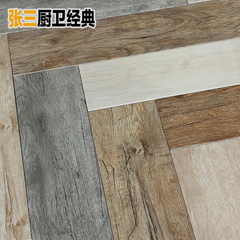 北欧灰色木纹砖瓷砖客厅卧室地板砖阳台仿古砖地砖 墙砖 原木地砖