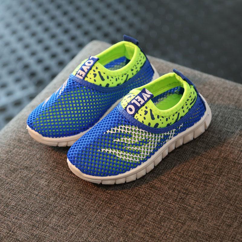 夏季新款男童中大男童鞋儿童休闲鞋