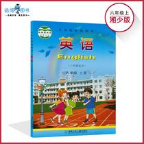 六年级上册英语书湘少版小学教材课本教科书 6年级上册 湖南少年儿童出版社全新正版现货彩色 2019年适用