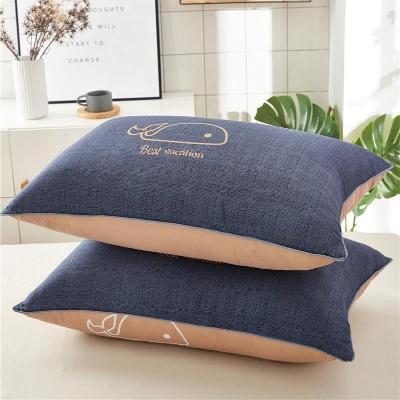 枕头女生宿舍床可爱韩式单人女孩可爱男士家用枕芯舒适双人简约潮