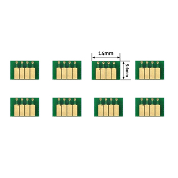 hp70号微型解密卡永久显墨自动芯片
