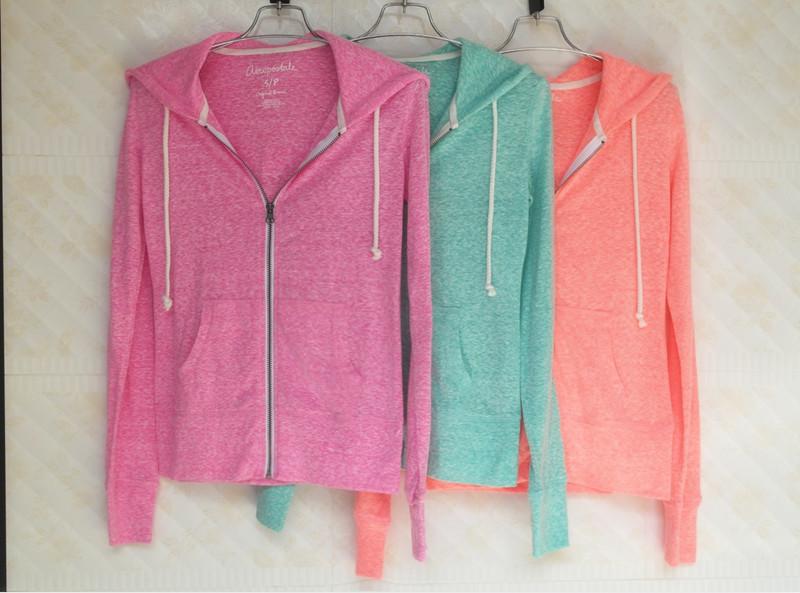 Внешней торговли оригинальный дамы лето тонкие молнии свитер женщин свитер пальто женские свитер Sun Hoodie